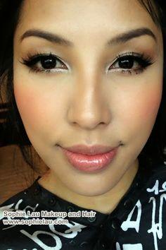 Sophie Lau Makeup and Hair: Wedding Work 2