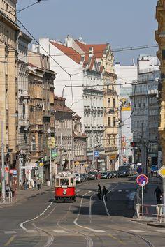 Tram in Praha