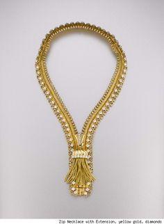 Zip necklace, Van Cleef & Arpels, shown in 2011 at the Smithsonian's Cooper-Hewitt, National Design Museum in NYC