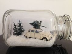11 fairly, cute, humorous and cheap concepts for Christmas - DIY craft concepts Christmas Jars, Rustic Christmas, Winter Christmas, Christmas Home, Vintage Christmas, Winter Diy, Christmas Projects, Holiday Crafts, Deco Table Noel