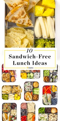 Sandwich Free Lunch Ideas kids lunch 10 Prep-and-Pack Lunch Ideas That Aren't Sandwiches Kids Packed Lunch, Healthy Packed Lunches, Cold Lunches, Healthy School Lunches, Nutritious Snacks, Prepped Lunches, Healthy Snacks, Healthy Recipes, Bento Box Lunch For Kids