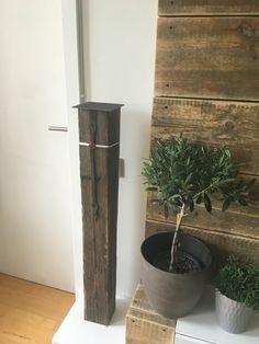 Design Wohnzimmer Holz Natur Holzbalken