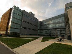 Scott Lab.  Mechanical Engineering Ohio State
