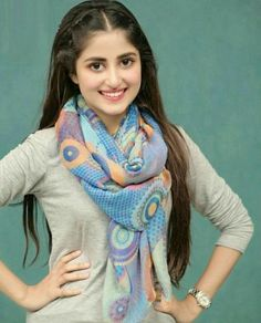 Sajal Ali is a popular face in Pakistan and has worked with Fawad Khan earlier - Did you know? The girl in Sridevi's MOM has also played Fawad Khan's step daughter before! Pakistani Girl, Pakistani Actress, Pakistani Dresses, Sajal Ali, Stylish Girls Photos, Stylish Girl Pic, Beautiful Celebrities, Beautiful Actresses, Beautiful People