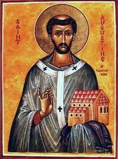 San Agustin.de Canterbury 27 de.mayo