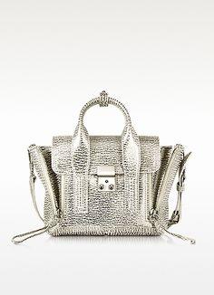 Natural & Silver Pashli Mini Satchel - 3.1 Phillip Lim