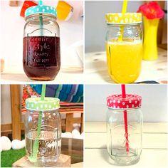 Ya tenéis disponibles los #botes de #cristal con #pajita de #colores en nuestra #web http://www.differentshop.es/40-botes-y-tarros Son perfectos para que disfrutes de tu #refresco, #té, #zumo o lo que más te guste en la #piscina, #playa o donde quieras ;)