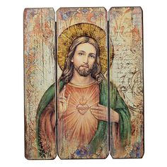 Find classic, vintage style Catholic art, like the Sacred Heart of Jesus Decorative Panel and more at Catholic book and gift store Leaflet Missal.