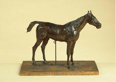 Edgar Degas. Cheval à l'arrêt (1865-1881)