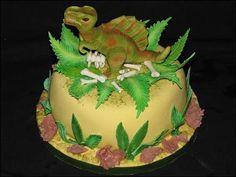 spinosaurus cake!!