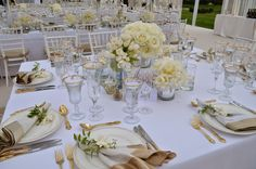 Entertaining From an Ethnic Indian Kitchen: Amazing all white engagement party