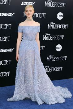 A Royal Wardrobe: Elle Fanning's Sleeping Beauty Style