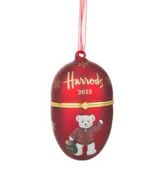 harrods christmas 2015 egg bauble available to buy at harrods shop luxury christmas decorations online - Cheap Christmas Decorations Online