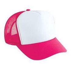 Foam Front Trucker Style Mesh Back Snapback Hat