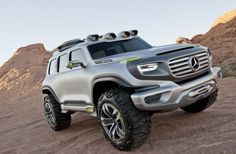 9. LA Design Challenge 2012 theme is 2025 Highway Patrol Vehicle: Ener-G-Force - futuristic spin on the Mercedes-Benz G-Class
