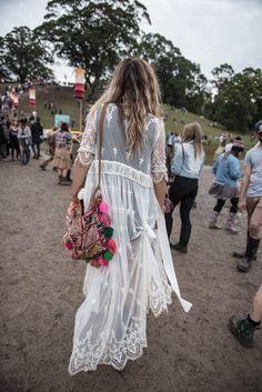 Boho lace. Festival. Más