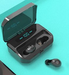 TWS True Wireless Earbuds IPX7 Featuring 9D Stereo Bluetooth 5.0 Earphones Ear Buds Ear Phones New Earbuds, Sport Earbuds, Bluetooth Headphones, Black Friday Deals, Mp3 Player, Sale Items, Consumer Electronics, Stuff To Buy