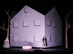 Die Zauberflöte (Wolfgang Amadeus Mozart), set and light design: Klaus Grünberg, Opernhaus Zürich, 2014