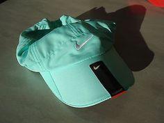 New Green 330 Nike Women Tennis Hat Dri Fit Golf Runners Golf Cap Featherlight | eBay