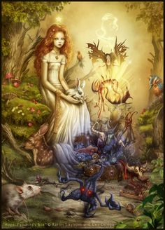 Nyx, the Night Goddess by SenRyuji | Timeless Treasures ...
