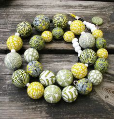 Polymer clay beads | Flickr - Photo Sharing!