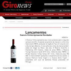 Lançamento #scancionare #winesenses #expovinis no Gironews.