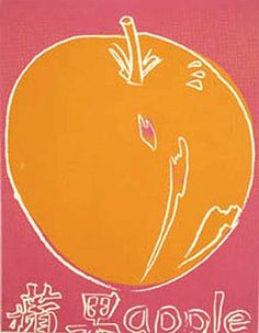 'Pomme', huile de Andy Warhol (1928-1987, United States)