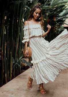 Fashion Inspo Outfits Sincerely Jules Ideas For 2019 Casual Summer Outfits, Boho Outfits, Fashion Outfits, Colorful Fashion, Trendy Fashion, Fashion Trends, Moda Do Momento, Honeymoon Style, Sincerely Jules