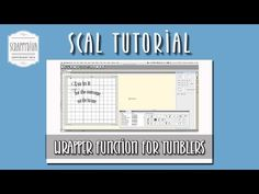 SCAL4 Wrapper function for tumblers - YouTube