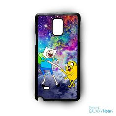 Adventure Time Jake and Finn Nebula Space for Samsung Galaxy Note 2/Note 3/Note 4/Note 5/Note Edge phone case