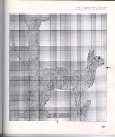 Gallery.ru / Фото #50 - Julie Hasler. Cats A Cross Stitch Alphabet - anfisa1
