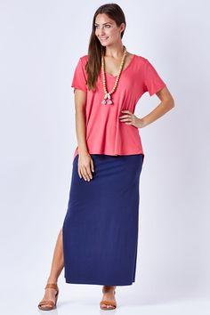 bird keepers The Weekender Maxi Skirt - Womens Long Skirts - Birdsnest Fashion Clothing