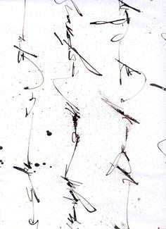 Sophie Verbeek - asemic writing