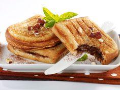 Découvrez la recette des croques Nutella-banane