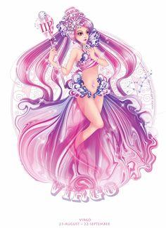 Virgo by Estheryu.deviantart.com on @deviantART