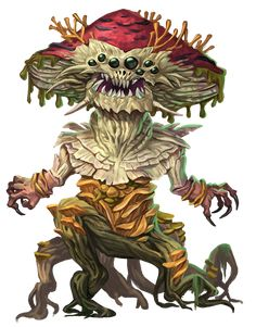 Cool Monsters, Dnd Monsters, Fantasy Monster, Monster Art, Alien Creatures, Fantasy Creatures, Plant Monster, Character Art, Character Design