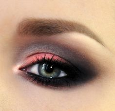 #Sexy #smokey #valentine's day #makeup