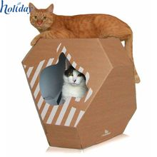 Shop our edited collection of designer products for your fussy feline - including luxury leather cat collars, modern cat furniture and designer cat beds. Cardboard Cat Scratcher, Cardboard Cat House, Cardboard Playhouse, Cat Playhouse, Cardboard Fireplace, Cardboard Toys, Cardboard Furniture, Ikea Furniture, Furniture Stores