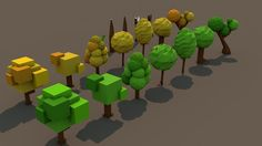 low poly tree - Google zoeken