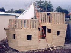 The Pirate Ship Cubby House