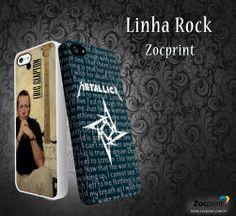 Capa de celular linha rock 2
