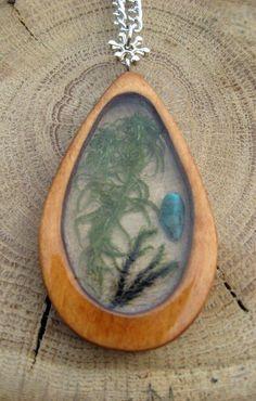 Кулон этника (лазурит, мох, древесина яблони), pendant/ #pendant #tvorec_by…