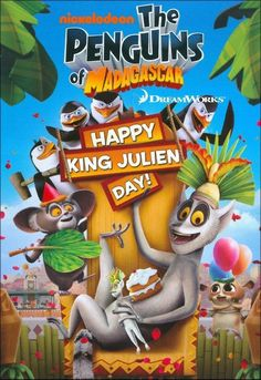 Shop for Penguins Of Madagascar - Happy King Julien Day [dvd]. Starting from Choose from the 4 best options & compare live & historic dvd prices. Dreamworks, Home Entertainment, King Julien, Julian Day, Scooby Doo, Happy King, Madagascar Movie, Ever After High Games, Wacky Holidays