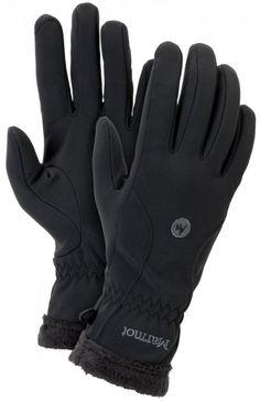 Marmot Wm's Fuzzy Wuzzy Glove Black S | MALL.PL