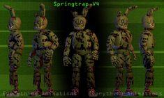 Springtrap V4 Complete by EverythingAnimations.deviantart.com on @DeviantArt