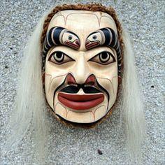 Shaman in a Trance Mask