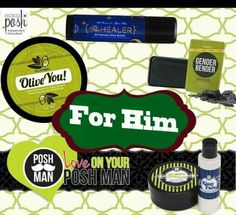 pamper your guy with these naturally based gift ideas for men from Perfectly Posh www.perfectlyposh.com/lisi.martinez.posh