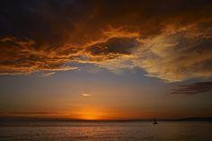 Sunrise in Sicily, Milazzo / July