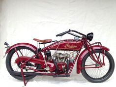 1924 Indian Scout V-Twin - Silodrome