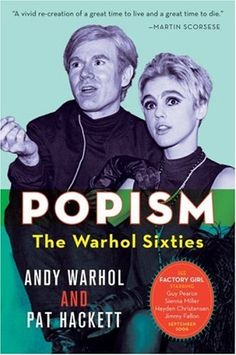 This is a fascinating book by Warhol. Really puts the 60s in perspective because he writes in real time. Weird but so fascinating. I have new respect for him and his art.